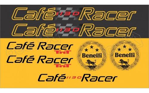 Kit Adesivos Benelli Tnt 1130 Cafe Racer Rc01