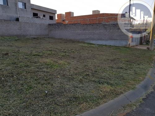 Excelente Terreno Plano, De Esquina, No Bairro Santa Rosa Em Vinhedo Com 287m2, Ótima Localização! - Te00023 - 68187094