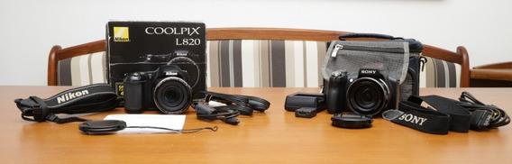 Sony Dsc-hx1 E Nikon Coolpix L820