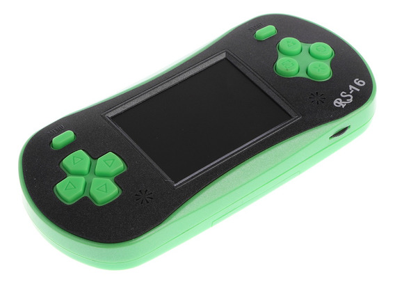 Rs -16 2.5 -inch Lcd Clássico Handheld Vídeo Jogo Console