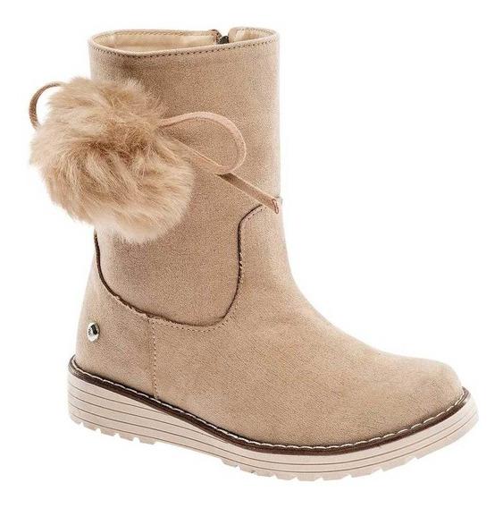 Bota Y Botin Moramora Z-52 Beige Niña Shoes Pk