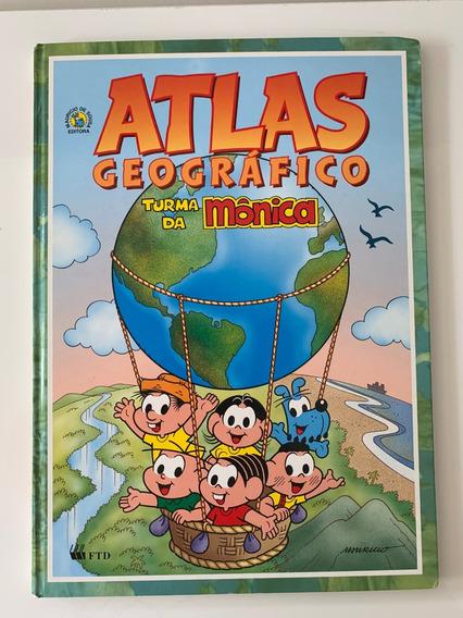 Atlas Geográfico Turma Da Mônica