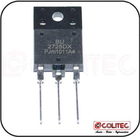 Transistor Bu 2725 Dx Original Philips