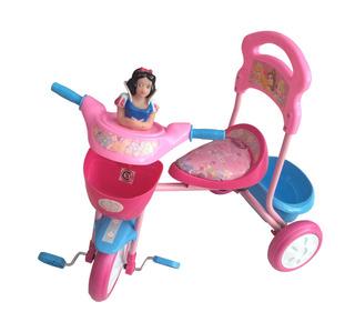 Triciclo Bebe Niños Reforzado Princesas Buzz Xg-13401