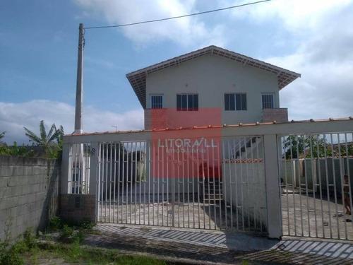 Casa Com 1 Dormitório À Venda, 40 M² Por R$ 120.000,00 - Jd Nossa Senhora Do Sion - Itanhaém/sp - Ca1340