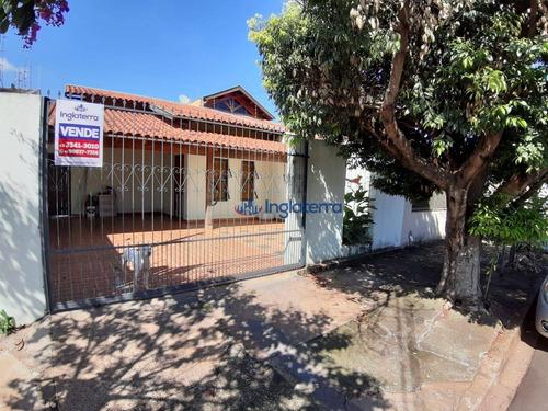 Casa À Venda, 122 M² Por R$ 235.000,00 - Cambezinho - Londrina/pr - Ca1297