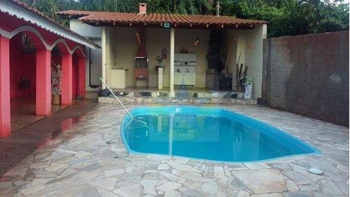 Chácara Com 3 Dormitórios À Venda, 1200 M² Por R$ 400.000,00 - Cachoeira - Atibaia/sp - Ch0168