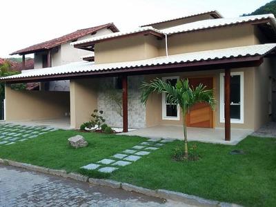 Excelente Casa Linear Dentro De Condominio, 1 Locação, Próximo Das Melhores Praias Da Região Oceânica, 3 Suítes E Espaço Gourmet - Ca0033