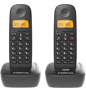 Telefone S/ Fio Intelbras Ts 2512 Base/ramal Dect 6.0