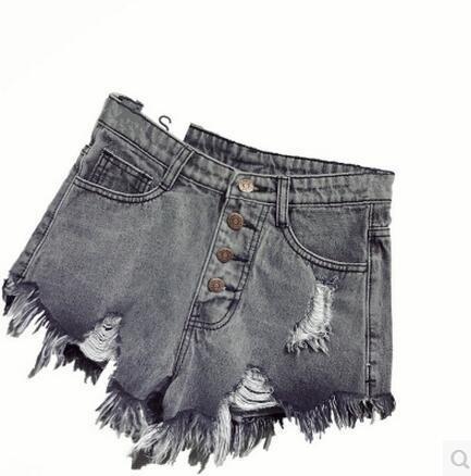 Pantalones De Mezclilla Color Gris Para Mujer Mercadolibre Com Mx