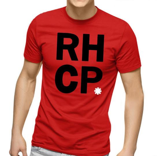 Camiseta Masculina Red Hot Chilli Peppers V2 - 100% Algodão