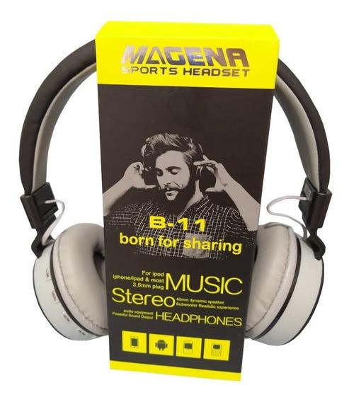 Fone Headset Sem Fio Bluetooth Com Microfone Radio B11 Promo