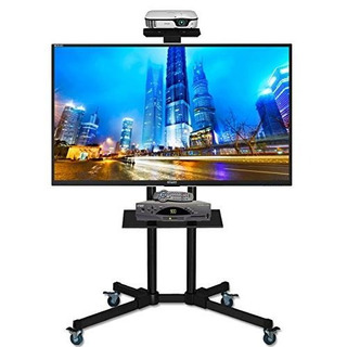 Soporte Force Tv Led Lcd 43 47 49 55 60 65 Stand Ruedas