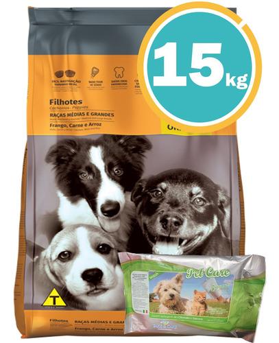 Imagen 1 de 7 de Ración Three Dogs Cachorros R Med Y Gdes + Obseq Y E Gratis