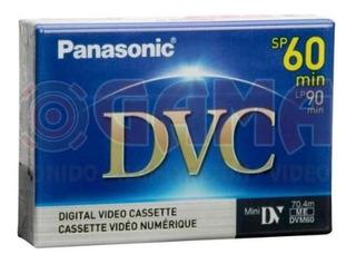 Pieza Unica Mini Dvc Panasonic Dvm60 En Estuche 60min 70.4m