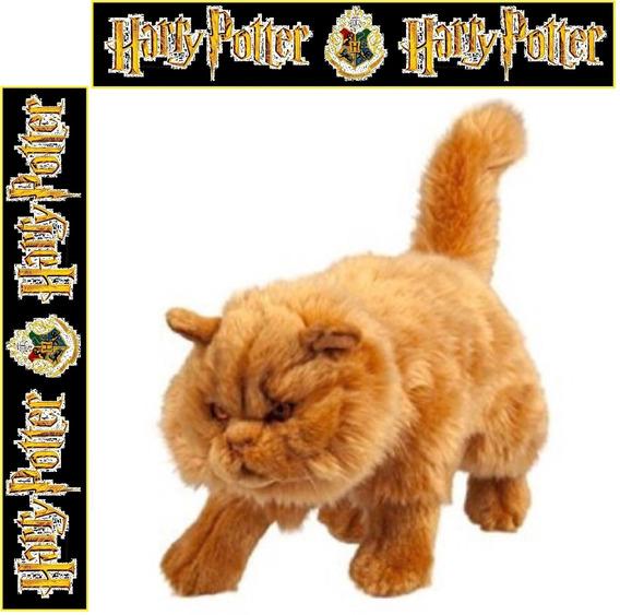 Harry Potter Gato Rookshanks Original Universal Studios