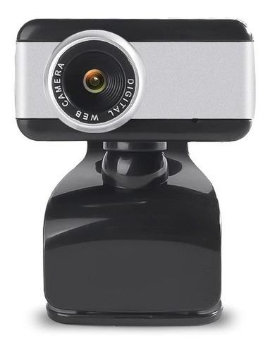 Cámara Web Usb Hd Webcam High Solution 480p 25 Fps Con Mic.