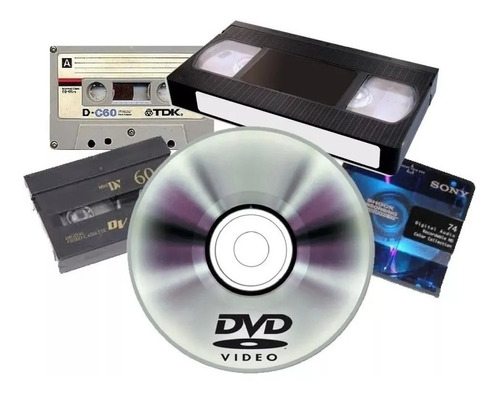 Digitalización Audio Video Vhs-c Mini Dv 8mm Cassetera!