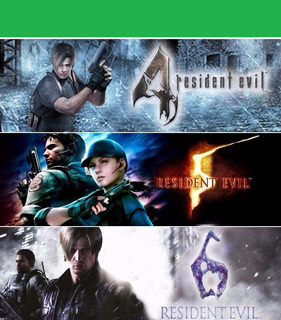 Resident Evil Triple Pack Xbox 360 - Permanente