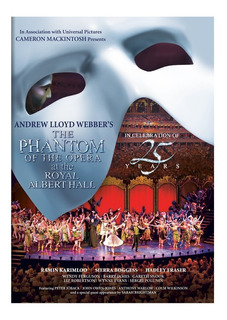 Dvd : - The Phantom Of The Opera At The Albert Hall (d...
