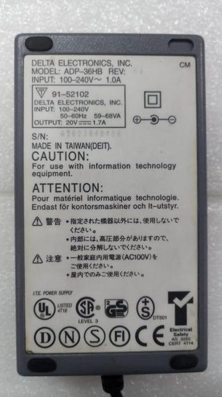 Fonte Carregador Delt Notebook Acer 350pc 20v 1,7a Adp 36hb