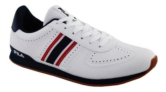 Tenis Fila Masculino Retro Sport 2.0 Branco Conforto