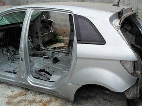 Traseira Baixa Com Teto Carcaça Caixote Mercedes B180 B200
