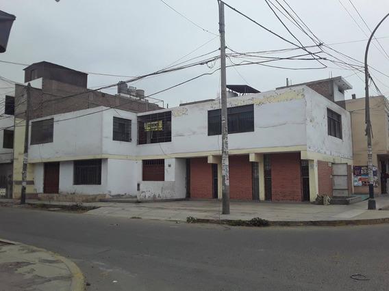 Vendo Casa 265m2 2 Frentes En Esquina Trebol Los Olivos
