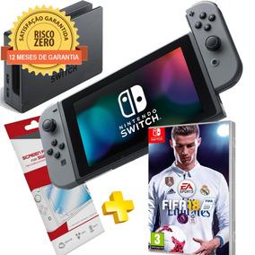 Nintendo Switch Gray + Fifa 2018