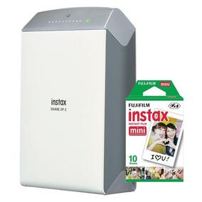Impressora Fujifilm Instax Share Sp2 Para Smartphone + 2pack