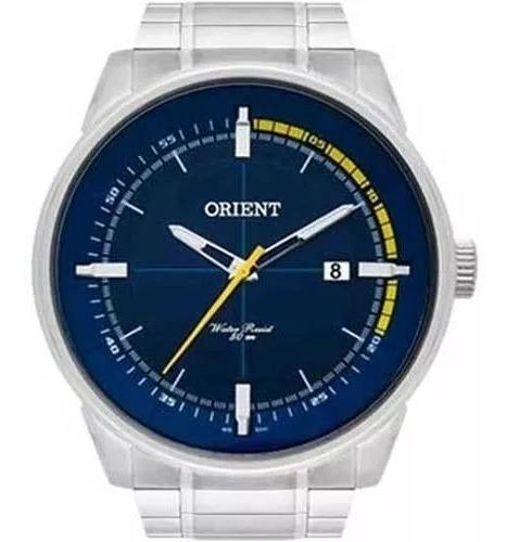 Relógio Orient Masculino Prata Classico - Mbss1295 D1sx