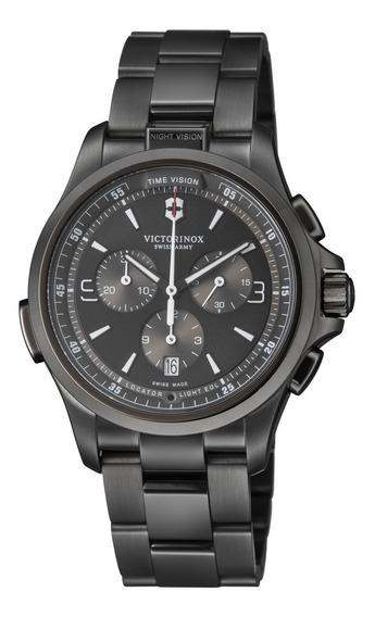 Relógio Masculino Victorinox 241730 Aço Inoxidável