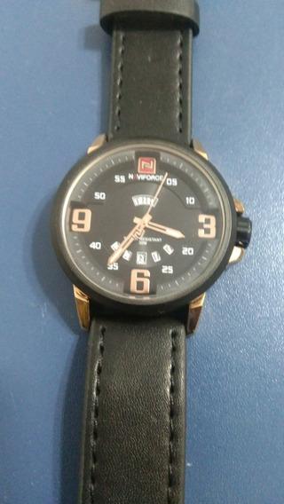 Relógio Naviforce Original Em Couro