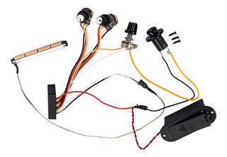 1 Juego De 3 Bandas Active Eq Preamp Circuito De Cableado