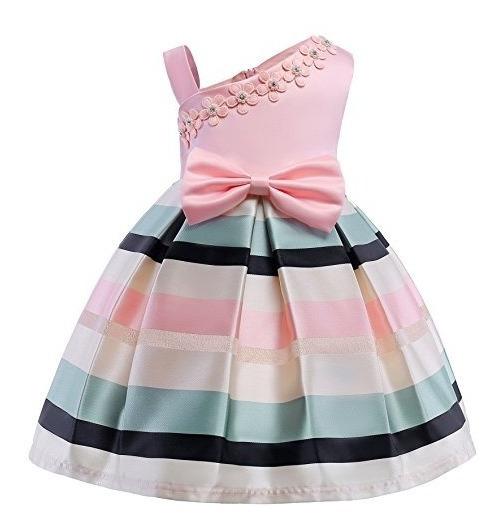 Vestido De Bloque De Color De Boda De Ano Nuevo De Teenages