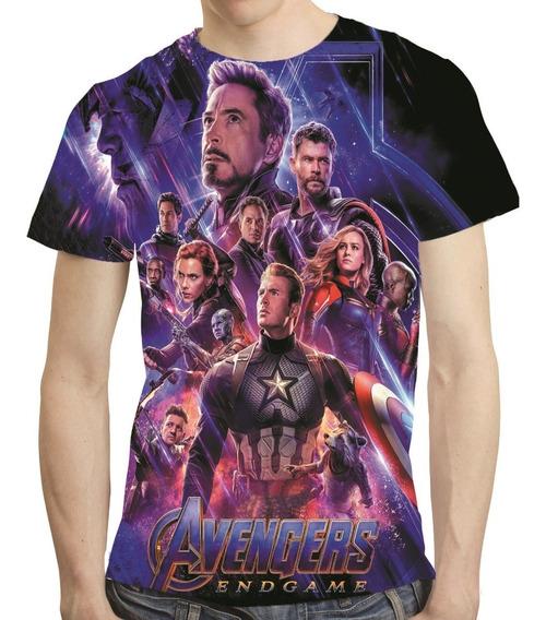 Camisa Avengers Camiseta Ultimato Vingadores Endgame Mod 17