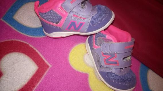 Zapatilla New Balance Bebé Usada Importada Original
