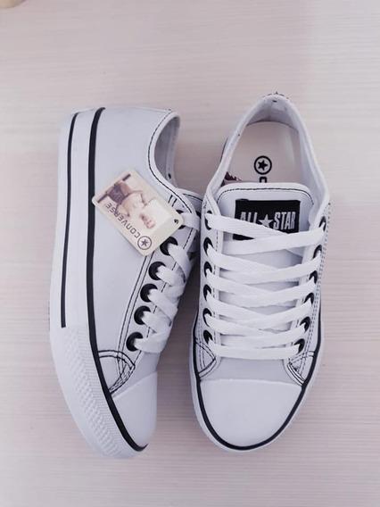 Zapatillas Converse All Star Cuero Ultimos Pares!!! Oferta!!