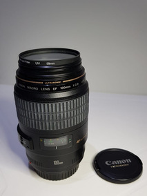 Lente Canon Ef 100mm F/2.8 Usm Macro