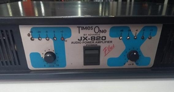 Amplificador De Potência - Times One - Jx820 - 820wrms