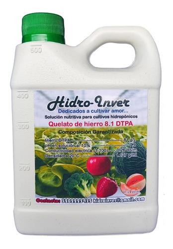 Quelato De Hierro Dtpa Para Hidroponia O Fertirriego.
