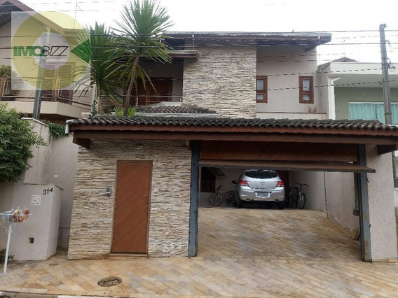 Casa Residencial À Venda, Condomínio Residencial Mirante Do Lenheiro, Valinhos. - Ca1954
