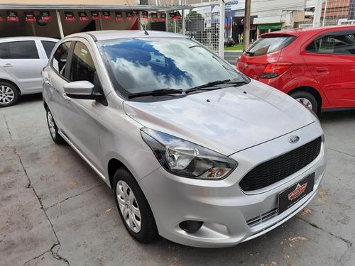 Ford Ka Se 1.0 Prata 2018