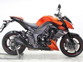 Kawasaki Z 1000 Abs 2012 Laranja