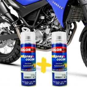 Tinta Spray Automotiva Motor Xt660 Grafite Star Dust Verniz
