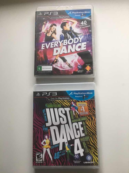 Just Dance 4 + Everybody Dance - Ps3