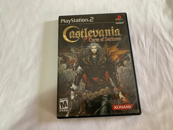 Castlevania Curse Of Darkness Ps2 Completo Original