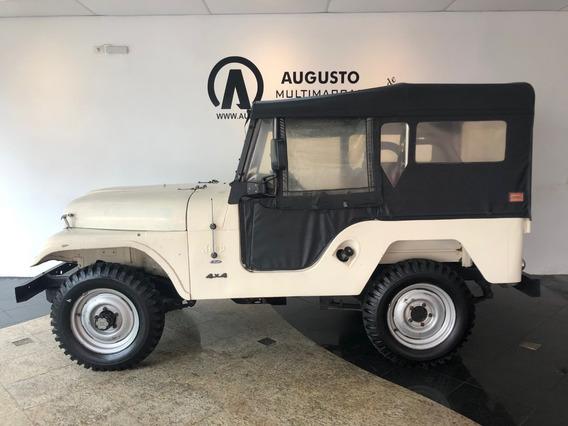 Jeep Ford Ano 1981 Único Dono