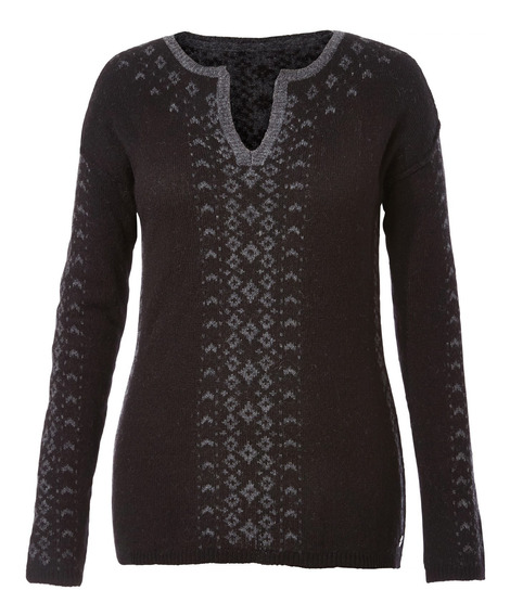 Sweater Mujer Autumn Pine Negro Royal Robbins By Doite