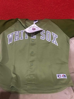 Jersey Camisola White Sox Grande Mujer Beisbol Majestic